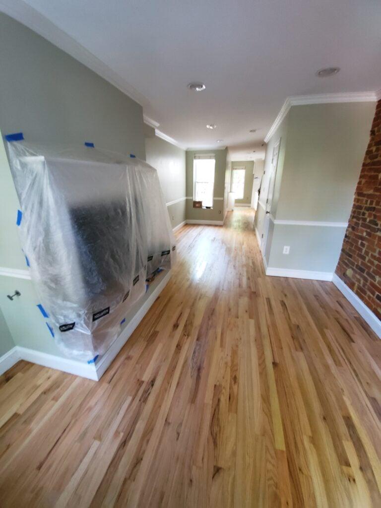 Floor and wall refinishing