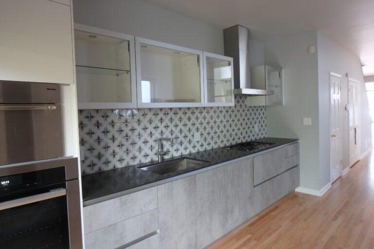 Kitchen renovation and modernization