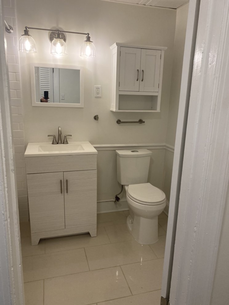 New bathroom finishes washington, Dc by infinity design solutions