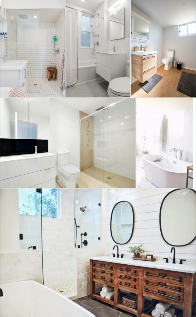 bathrooms in washington, Dc by infinity design solutions