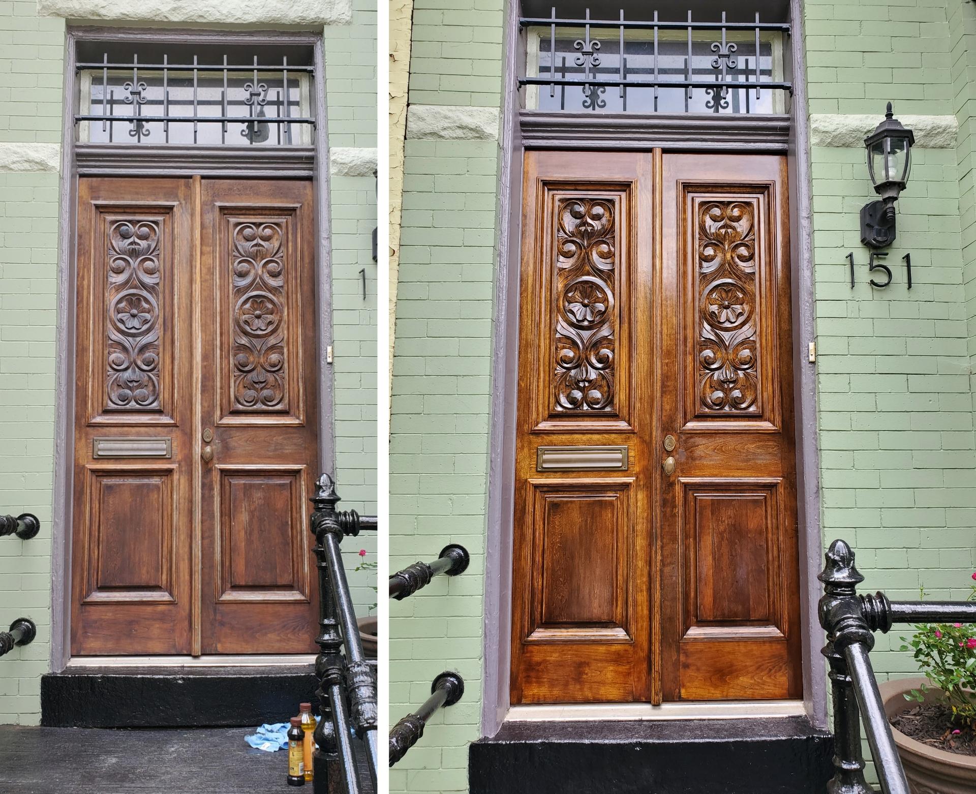 door rebuilt in washington, Dc by infinity design solutions