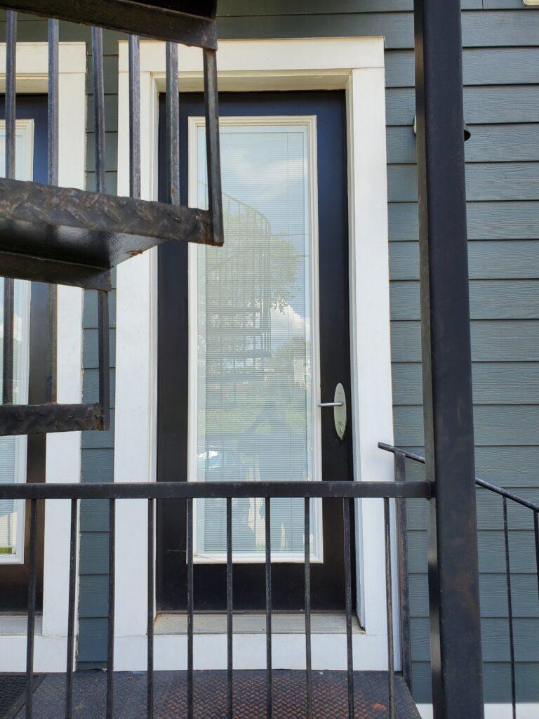 rebuilt door in washington, Dc by infinity design solutions