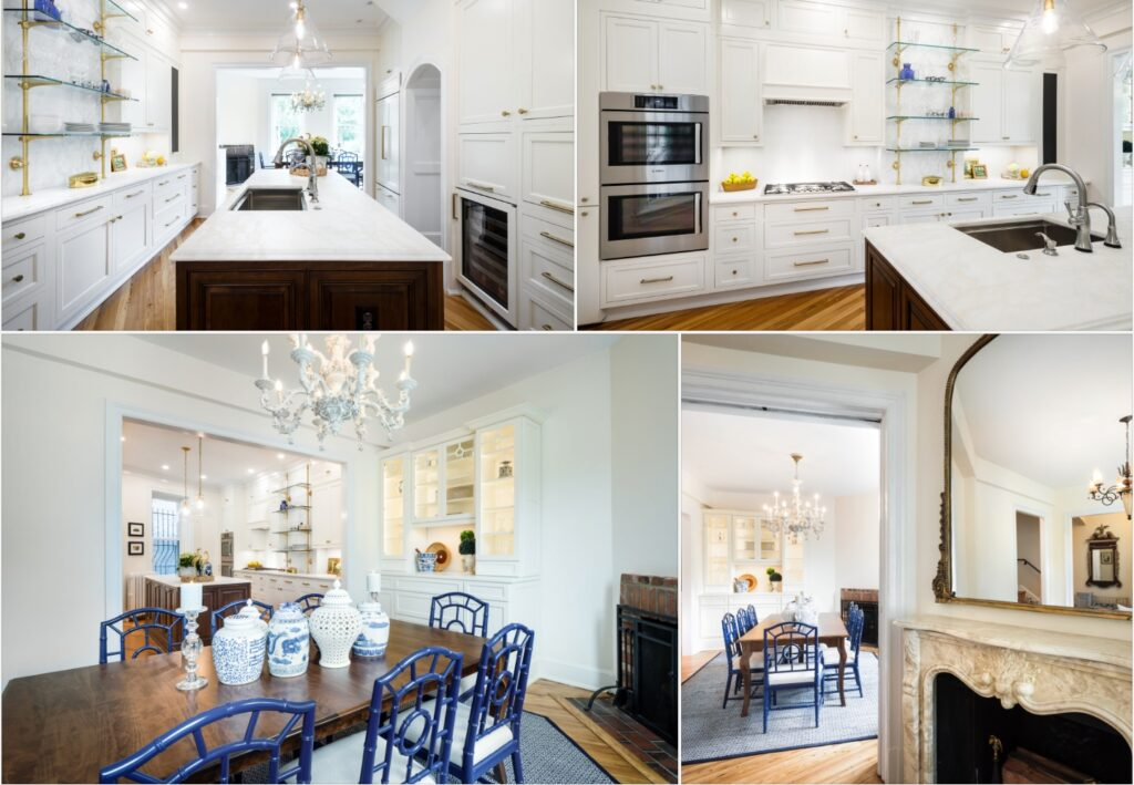 renovated interior in washington, Dc by infinity design solutions