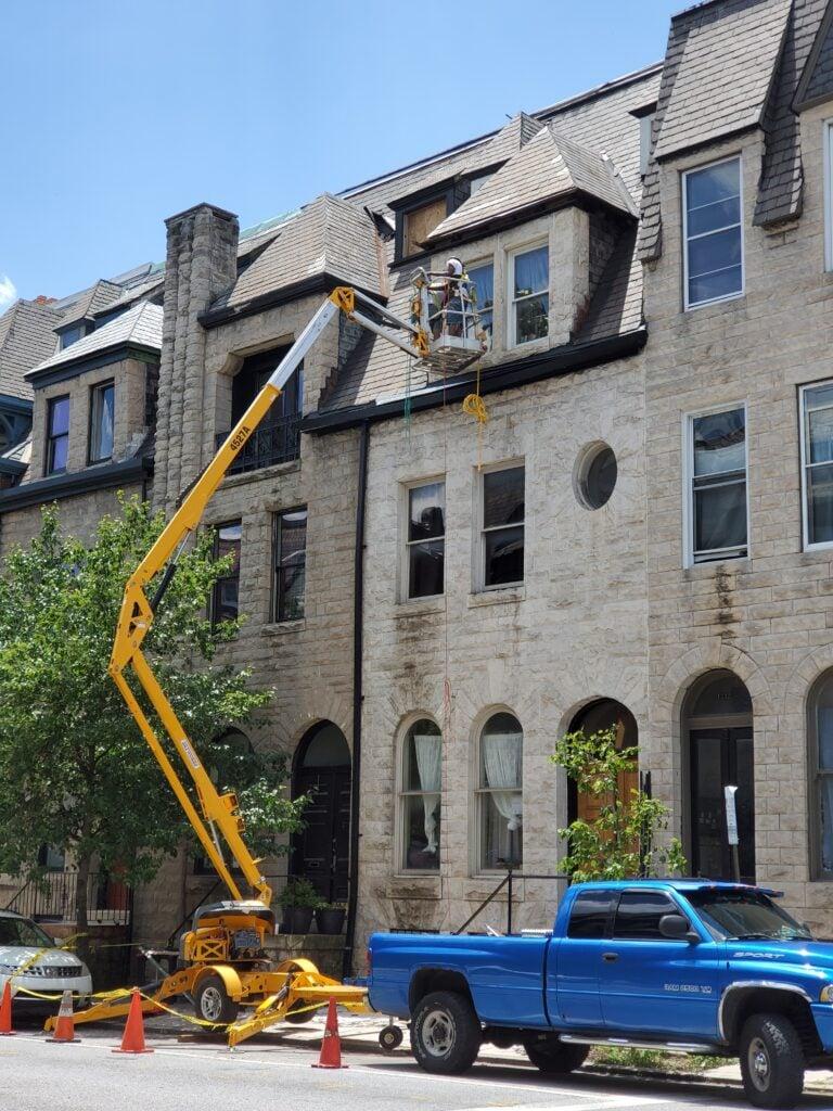 window restoration in washington, DC by Infinity designer solutions
