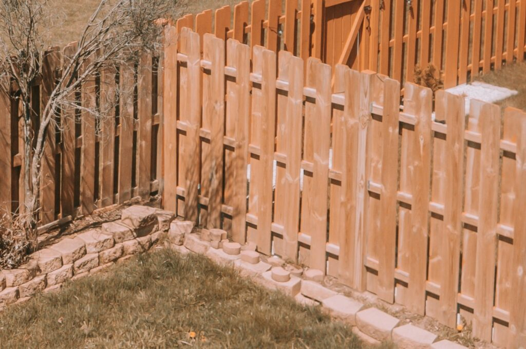 wood fence n washington, Dc by infinity design solutions